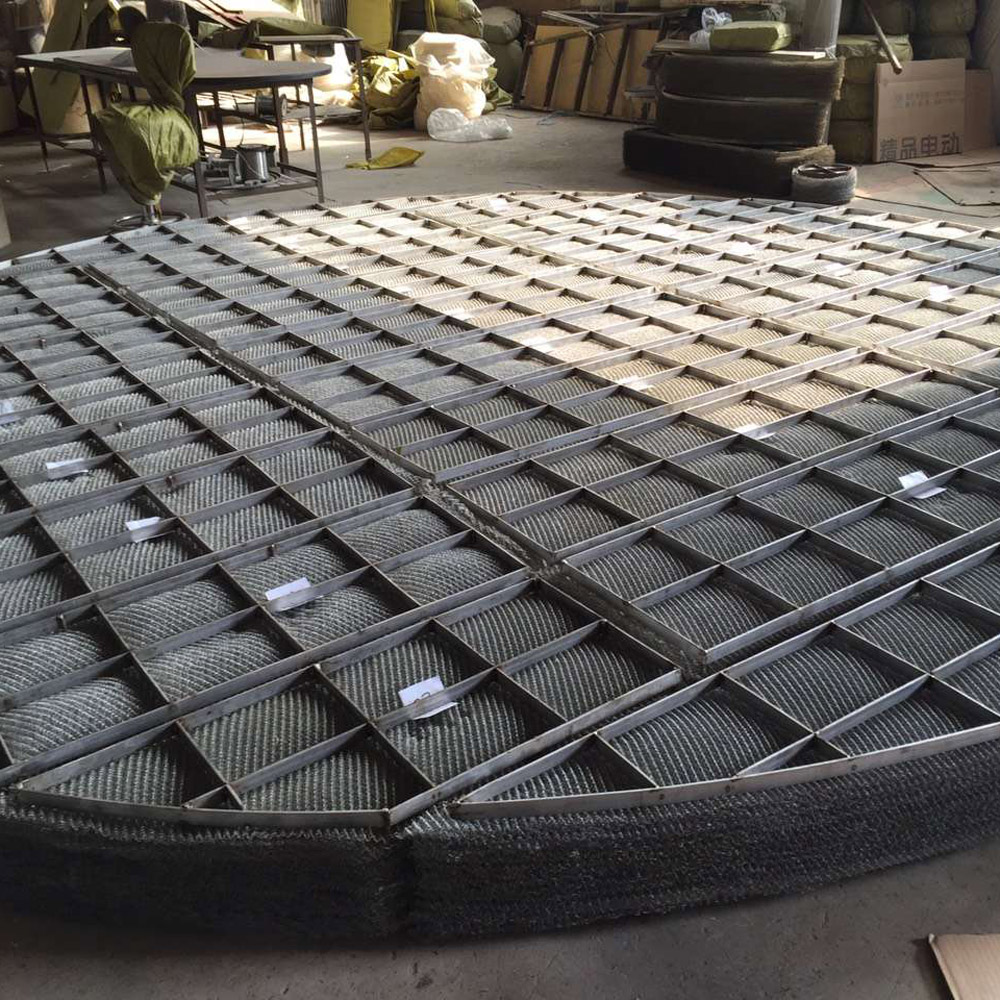 round shape statinless steel demister filter