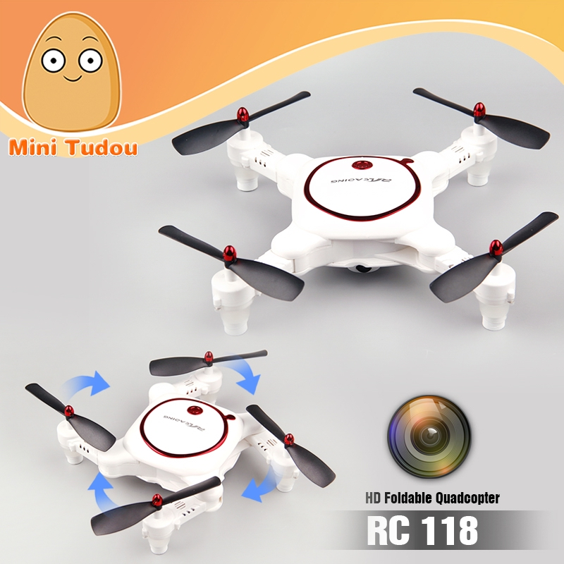New Dron 2.4G 6-Axis Gyro <strong>HD</strong> Pocket Foldable Wifi FPV <strong>720P</strong> <strong>Quad</strong> copter