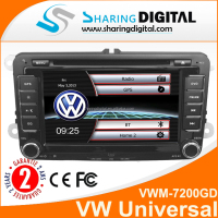 touch screen double din vw golf car dvd auto radio with gps Bluetooth