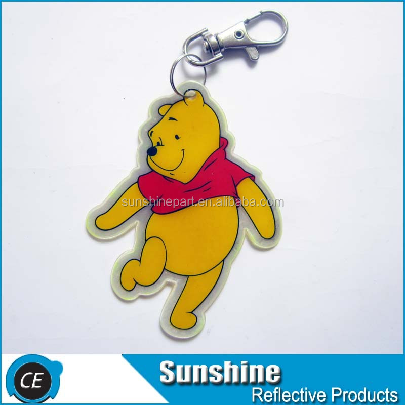 cartoon replica acrylic keychain