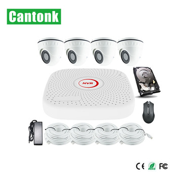 Best Seller 4CH 2MP Ip Camera Set For Indoor And Outdoor