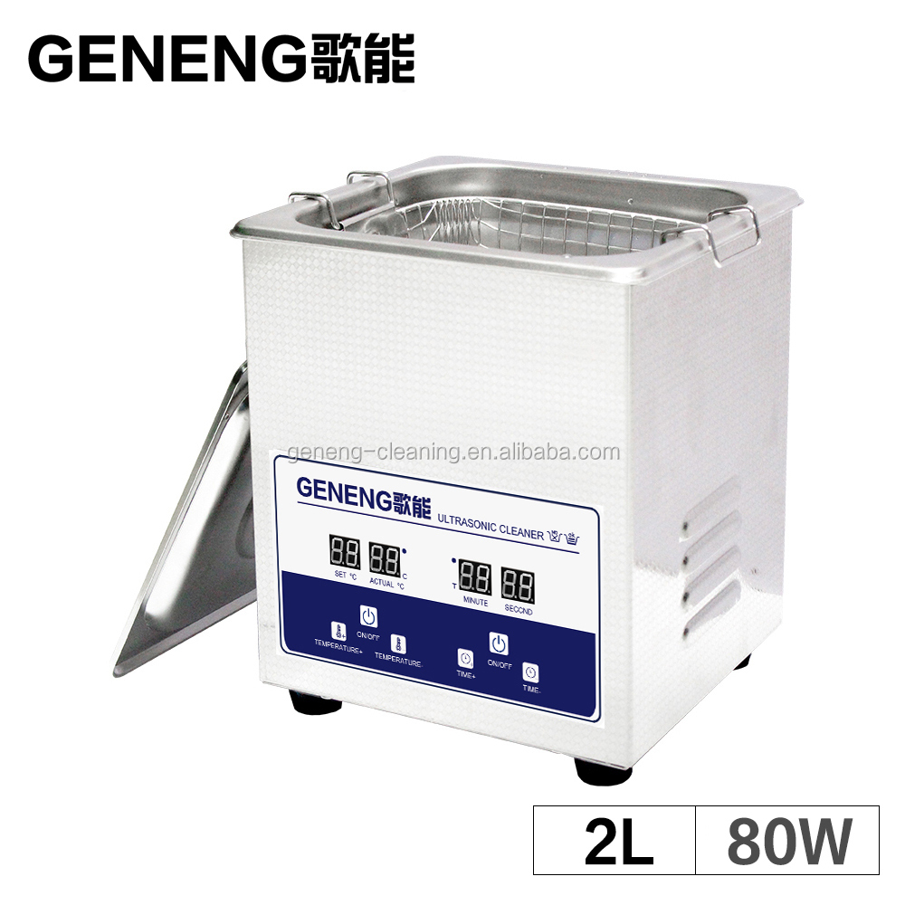 2L Ultrasonic Cleaner with CE Baby Items <strong>Watches</strong> Tableware Fruit Small Parts Jewelry Razor Ultrasound Heater Timer Bath