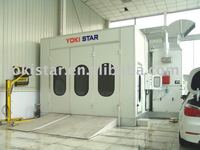 garage paint booth with durable spray booth oven is made by autobody paint supplier