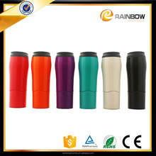 2017 new product leak proof mug non spill mighty magic insulated suction mug 550 ml