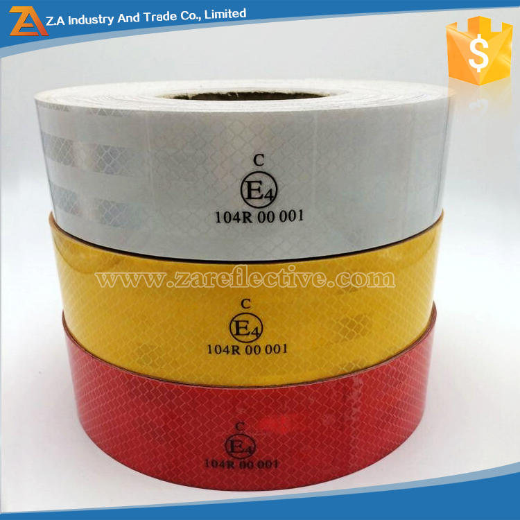 High Visibility Reflective Marking Truck Tape ECE Approved