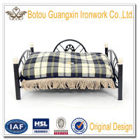Elevated Metal Frame Dog Bed Cat Bed with Soft Warm Cushion Upscale Mattress Fast Delivery