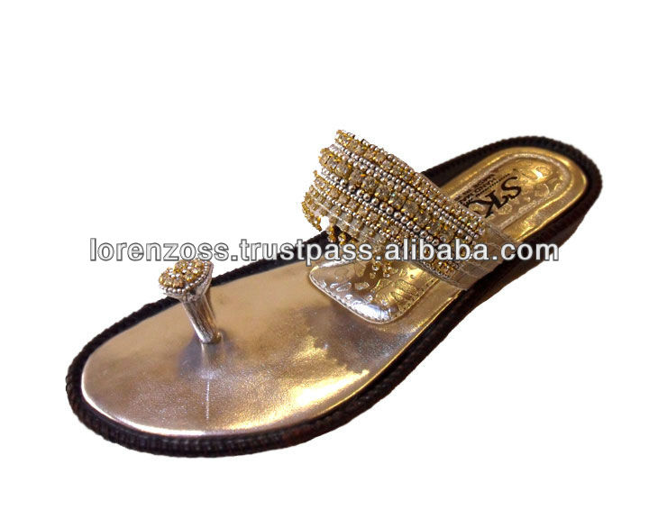 Ladies Sandals Beautiful Indian Style