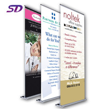 Wholesale Low Cost Aluminum Stable Flex Stand Roll Up Banner Display Size