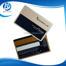 Hotel VIP Gold/Silver Magnetic Stripe Membership Card