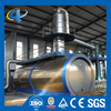 Scrap Tyre Recycling Plant Waste Plastic Pyrolysis Oil Refining System