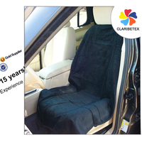 15-year Experience Logo customized Durable Suede Fabric Front Car Seat Cover
