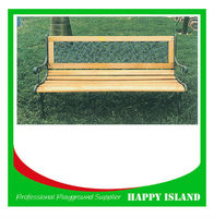Hot Selling Factory Directly Supply Castle Iron Outdoor Furniture Lesiure Rest Wooden Park Bench Metal Garden Bench