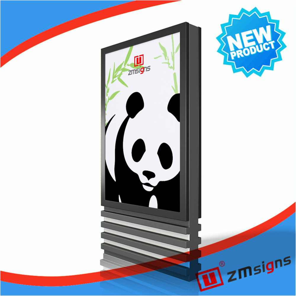 ZM-109 High quality Wholesale mupi advertising <strong>sign</strong>