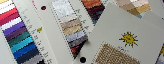 Deluxe Swatch Card Set