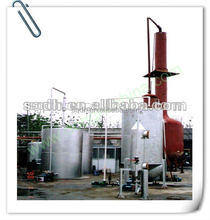 hot sale waste oil purification machine with CAP-50T/D no pollution