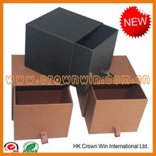 Cardboard paper drawer candle box