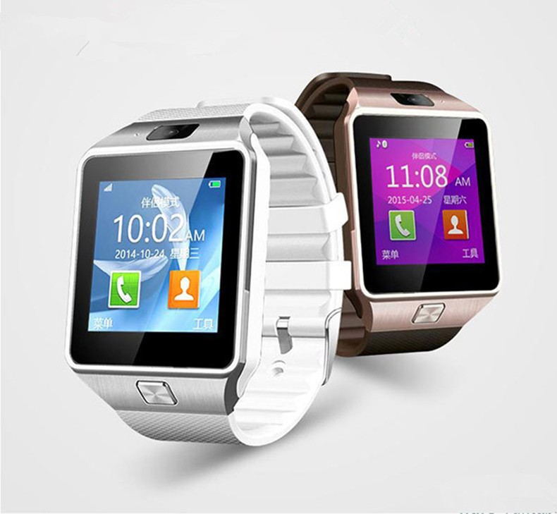 Fashion design smart watch DZ09 compatible with SIM card & TF card