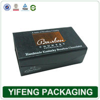 China Manufacturer Cardboard Gift Leather Wine Carrier Box With Megnet