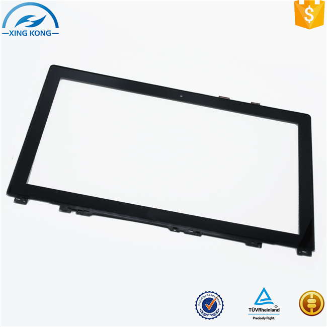 Wholesale and Bulk Touch Screen Digitizer Touch Panel Glass Lens Replacement For Lenovo Ideapad U530 20289 +Bezel