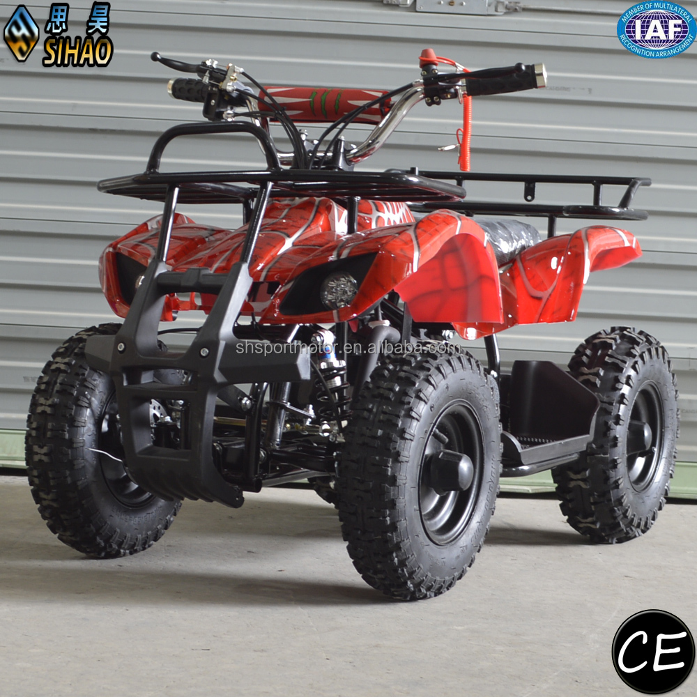 SHATV-007 cheap pull start mini 49cc quad atv for kids