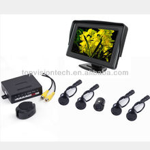 Original parking sensors with camera with 4.3 inch monitor view parking sensor FR4301