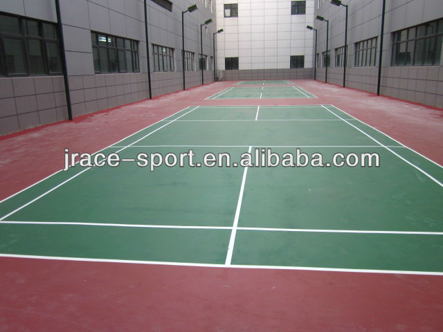 All weather outdoor badminton court paint material with for All weather material
