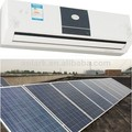 new product 12000btu solar air conditioner driven by solar panels outdoor air conditioner cover