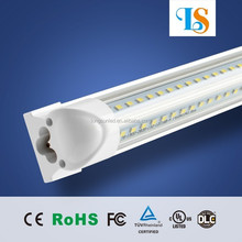 Integrated T8 LED Tube V Shape both sides Light 28W 4FT 4 feet 1.2m for cooler door led lighting