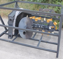 agriculture farming packaging machinery Trencher For Skid Steer Loader