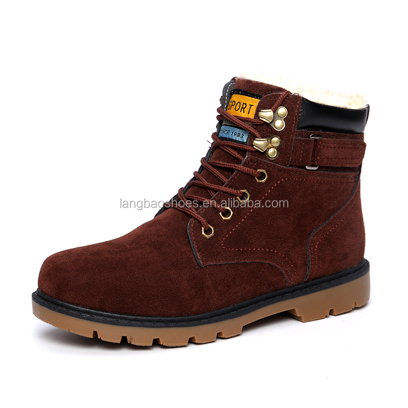 2016 new style winter boots rubber outsole snow boot