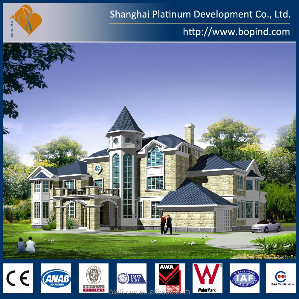 prefabricated steel frame house for sale