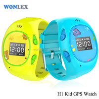 Real-time Monitoring Watch Tracker Wonlex H1/long time standby gps tracker for kids