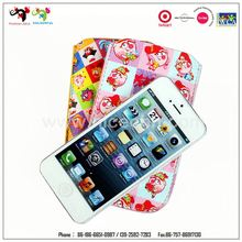 New product soft leather custom cute wristband cell phone pouch bag