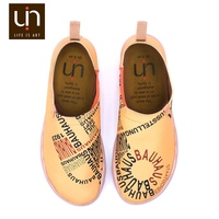UIN Bauhaus Spirit New Style Colorful Slip on best selling latest european italian flat sole running shoes