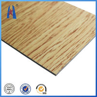 3d wall panels decoration wooden rigid aluminum composite plastic panels