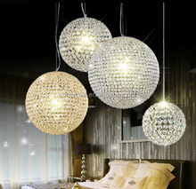 2017 Fancy G9 Light Source crystal globe pendant lamp RT1352-3