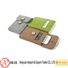 Alibaba Express china hot selling high quality felt mobile phone bag for unisex
