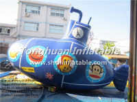 inflatable submarine for advertising