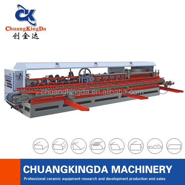 Automatic Ceramic Marble Tiles Arc Edge Polishing Machine ...