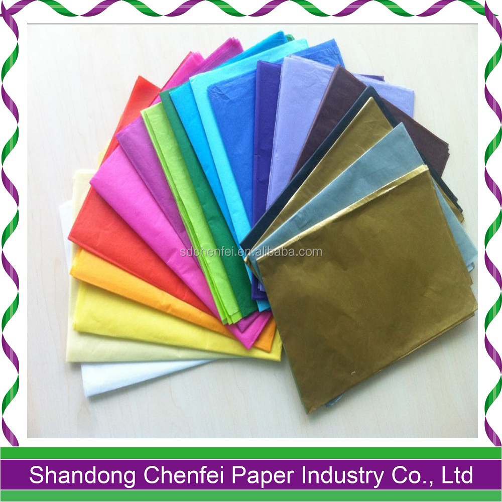 17g solid color gift colorful wrapping tissue paper,fruit wrapping paper,acid free paper