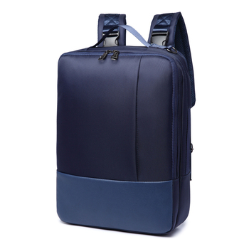 leather 3 in 1 waterproof laptop bag computer backpack for travel