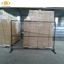HAIAO WIRE MESH CE certification powder coated canada temporary fence