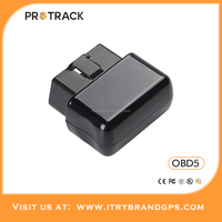 Protrack Competitive price Plug and Play Satellite Cell Phone Tracker Online GPS GPRS Tracking System OBD5