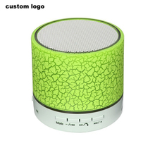 LED light Portable Mini Speaker Wireless Hands Free Speaker With TF USB FM Mic Blutooth