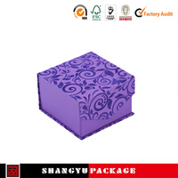Transparent UV coating walmart gift boxes