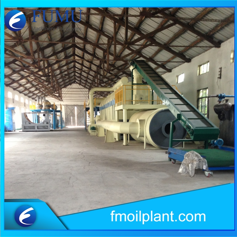 waste tire oil to diesel plant