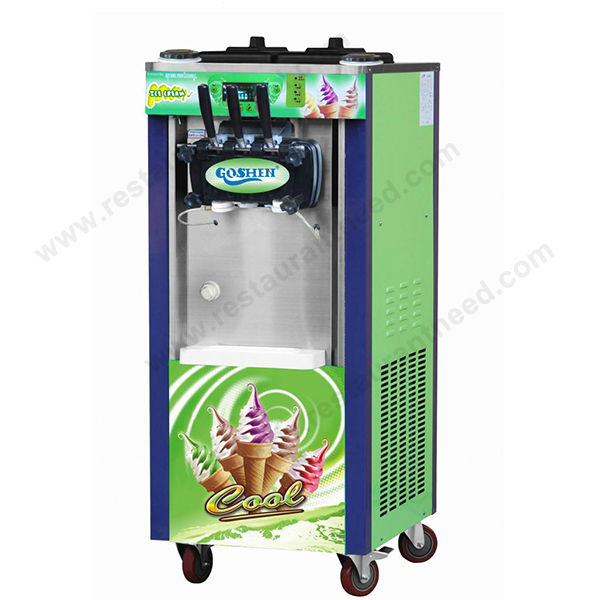 Kitchen Appliance Mobile Liquid Nitrogen Rainbow ice cream machine