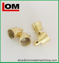 Fashionable hot selling threaded brass tube