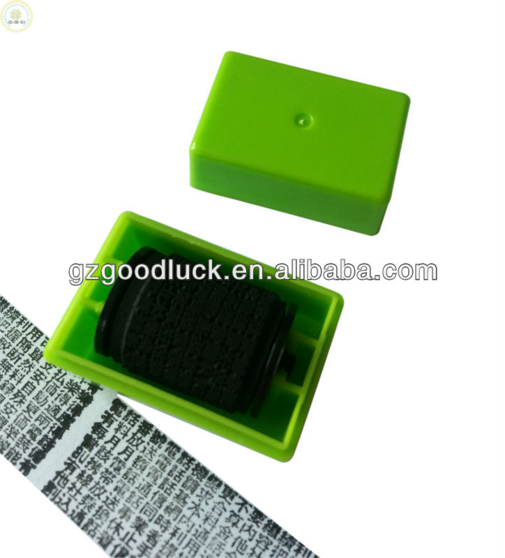 Self-Inking Stamp Flash Roller ID Guard Stamp From GOODLUCK