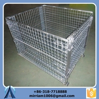 Customized Foldable Steel Pallet Crate